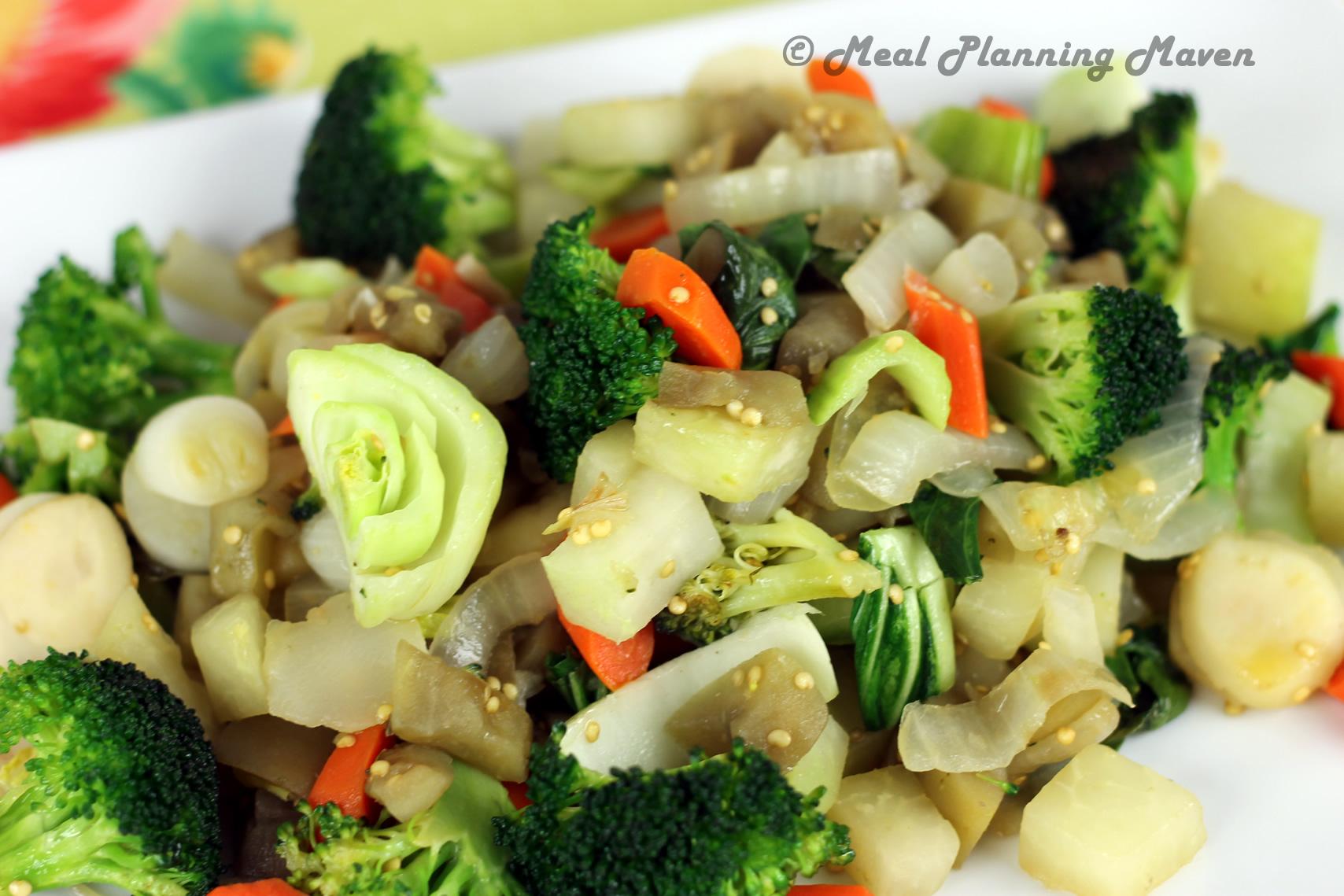 Quickie Asian Veggie Stir-Fry