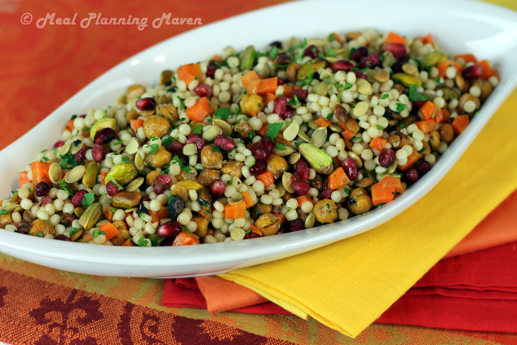 Jeweled Israeli Couscous