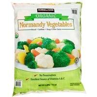 Kirkland frozen vegetables - paleo foods at Costco