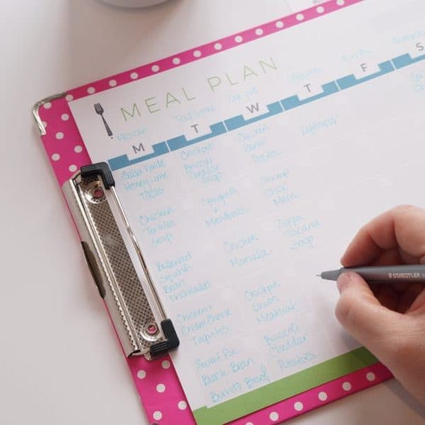 Monthly Meal Planning: Make it Fast + Easy!