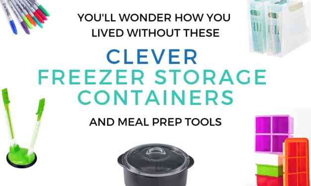 21 Clever Freezer Storage Containers & Meal Prep Tools