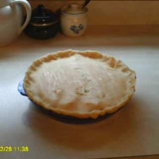 Freezer Meal Chicken Pot Pie