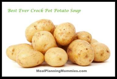 Best Ever Crock Pot Potato Soup