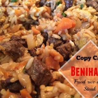 Benihana Restaurant Copy cat recipe: Hibachi Steak and Fried Rice