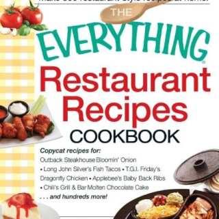 Copy Cat Restaurant Recipes Meal Plan