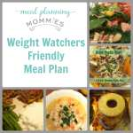 Free Weight Watcher Friendly Meal Plan and Grocery List #1
