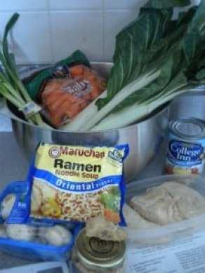 asian noodle bowl ingredients