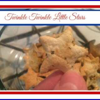 Twinkle Twinkle Little Baked Tortilla Stars