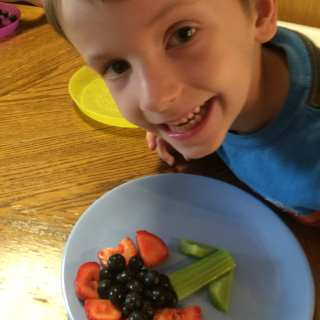 Healthy snack idea for Kids