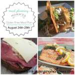 Gluten Free Meal Plan August 24th-28th