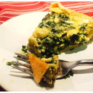 Spinach and Cheese Quiche, 4 WW Points+