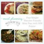 Free Weight Watcher Friendly Meal Plan and Grocery List #9