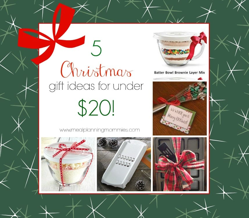 Christmas gifts under 5.00 each