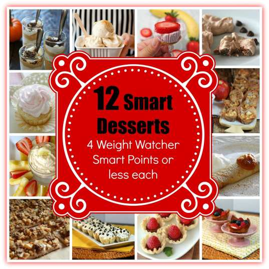 12 smart desserts 4 ww smart points or less