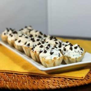chcolate chip cannolini
