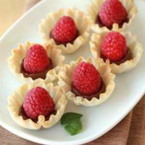 raspberry hershey yumminess