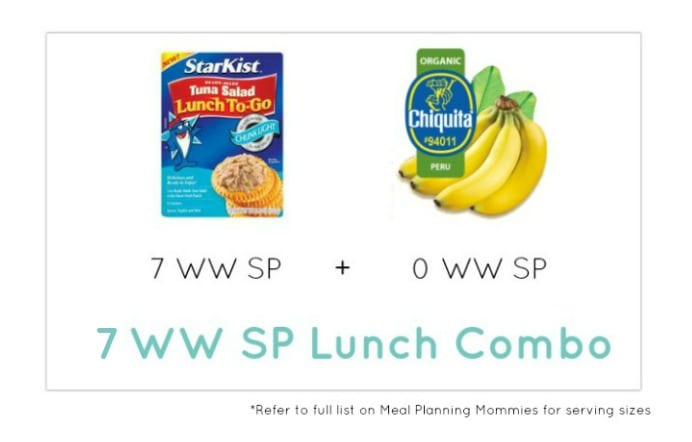 Weight Watcher Lunch Combo 13 - Meal Planning Mommies