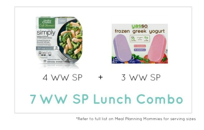 Weight Watcher Lunch Combo 17 - Meal Planning Mommies