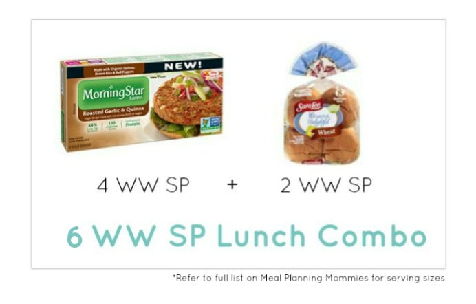 Weight Watcher Lunch Combo 20 - Meal Planning Mommies