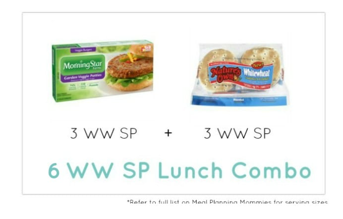 Weight Watcher Lunch Combo 21 - Meal Planning Mommies