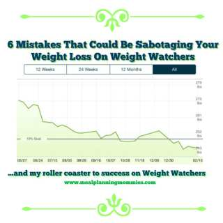 6 Mistakes That Could Be Sabotaging Your Weight Loss On Weight Watchers