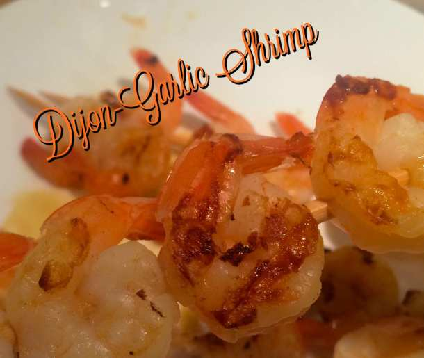 dijon garlic shrimp