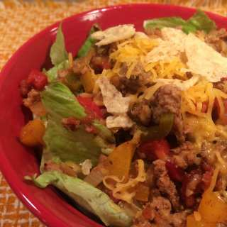 Turkey Taco Salad – 3 Smart Points