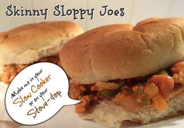skinny sloppy joes weight watcher friendly