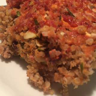Turkey and Quinoa Meatloaf – WW friendly and GF