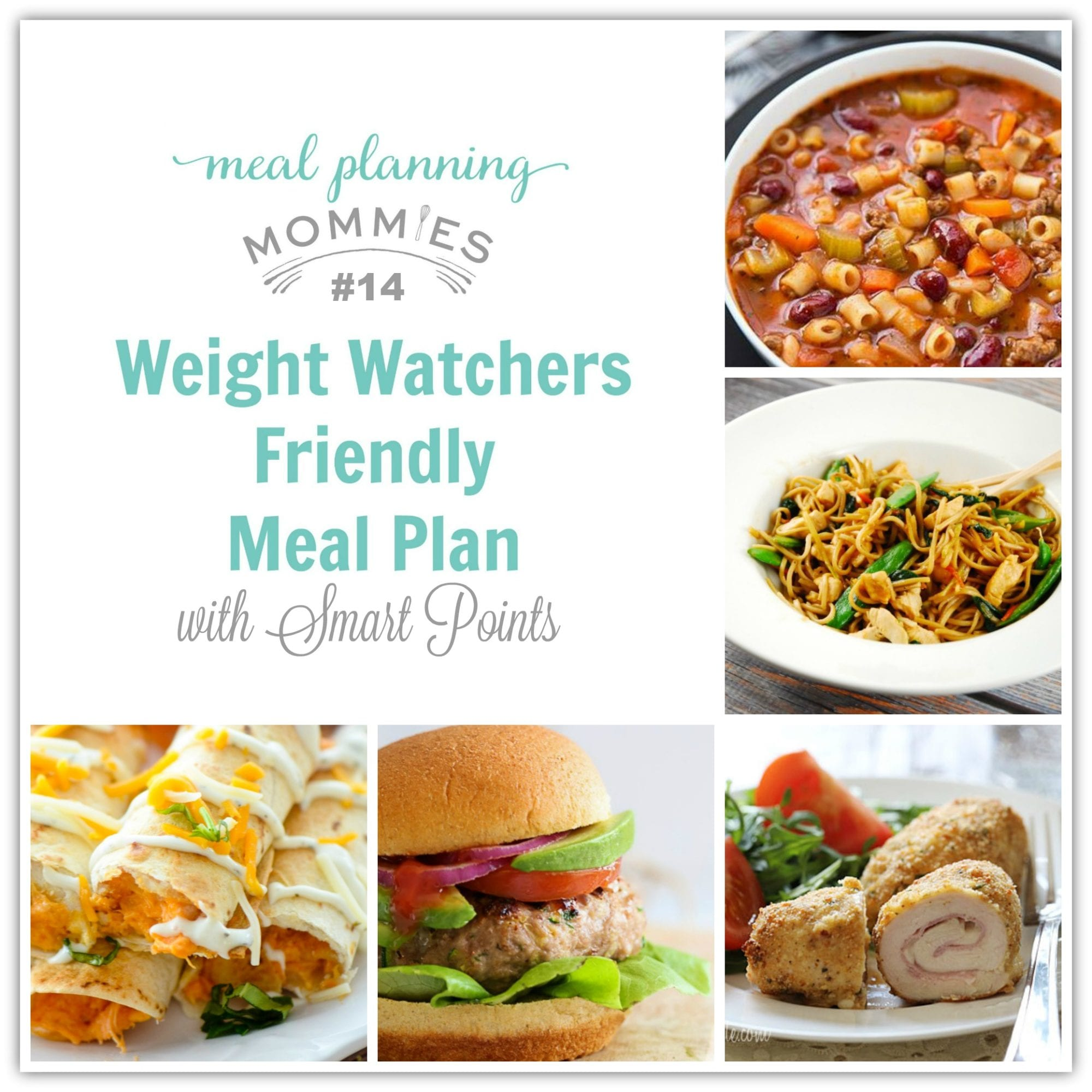 weight watcher friendly meal plan with smart points 14 meal planning mommies. Black Bedroom Furniture Sets. Home Design Ideas