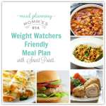 Weight Watcher Friendly Meal Plan with Smart Points #14