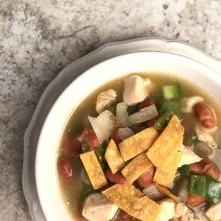 Southwest White Bean and Chicken Chili