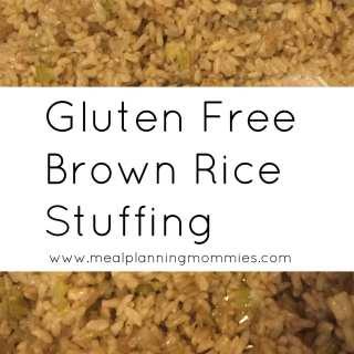 Gluten Free Brown Rice Stuffing