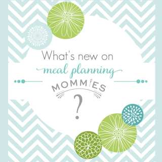 Meal Planning Mommies Updates