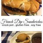 Crock Pot French Dip Sandwiches