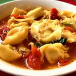 Hearty Tortellini and Chicken Soup