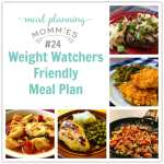 Weight Watcher Friendly Meal Plan #24 with FreeStyle Smart Points
