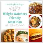 Weight Watcher Friendly Meal Plan #25 with FreeStyle Smart Points