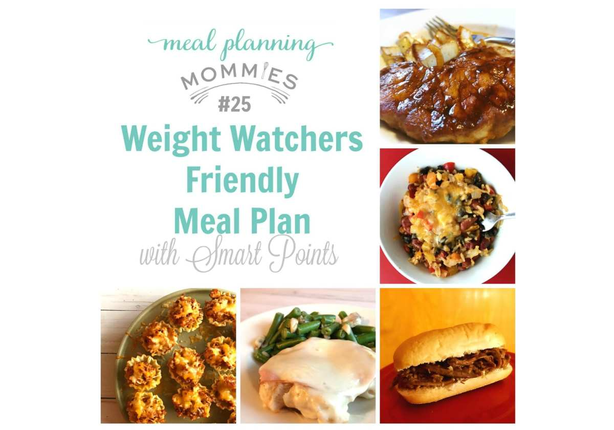 Weight Watcher Friendly Meal Plan with Smart Points #25