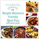 Weight Watcher Friendly Meal Plan #26