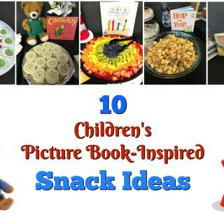 10 Picture book inspired snack ideas