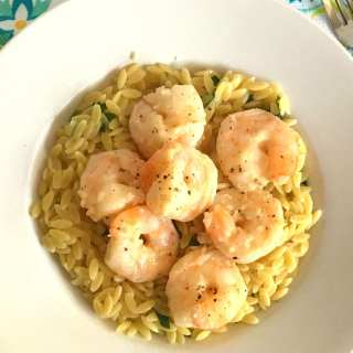 Delicious Lemon Garlic Shrimp Scampi