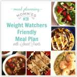 Weight Watchers Friendly Meal Plan #28 with FreeStyle Smart Points