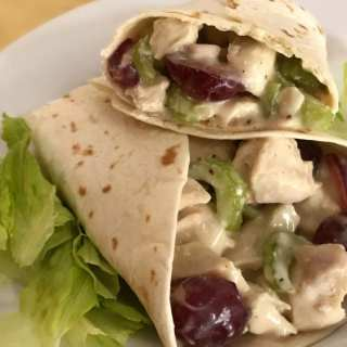 Jan's Fruited Chicken Salad Wraps