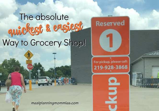 Free Grocery Pickup at Walmart