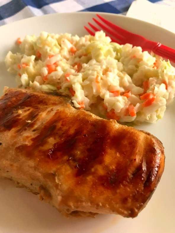 super simple marinated chicken