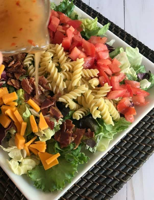 Italian Chopped Salad on Meal Planning Mommies
