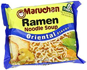 Use ramen noodles in a lo mein dish