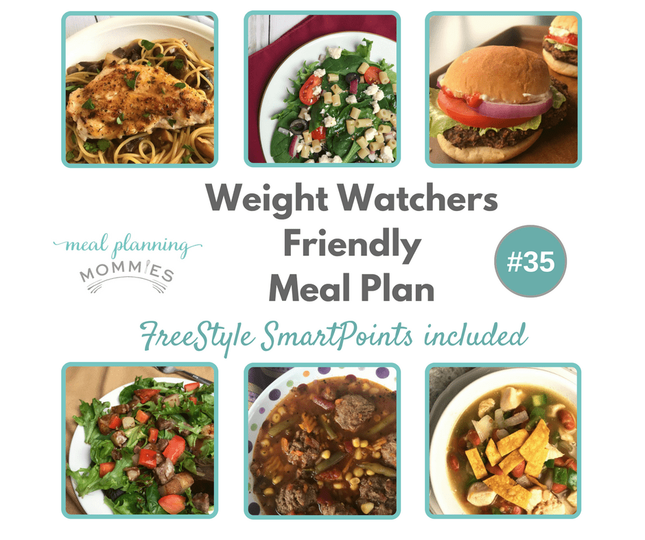Weight Watchers Friendly Meal Plan With Freestyle Smart Points #35