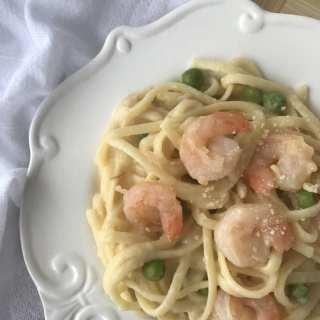 Shrimp Parmesan Alfredo